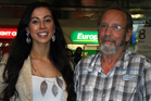 Miss Universe New Zealand finalist Deborah Lambie checked Alex Reid's vital signs and helped revive him.