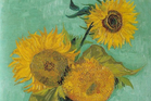 Three Sunflowers is owned by a collector.