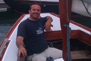 Mike Peterson has been sailing the inhospitable waters of San Francisco Bay for 24 years.