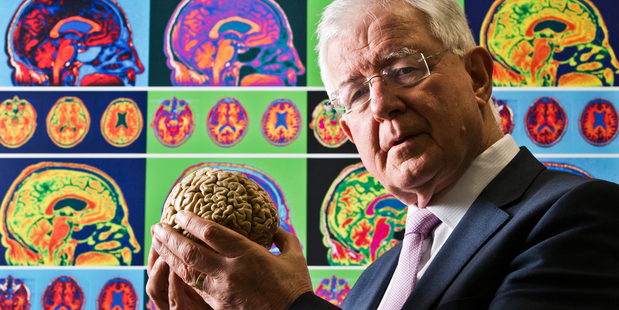 Prof Faull has devoted his career to understanding the human brain. Photo / Greg Bowker