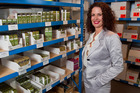 Skincare and beauty entrepreneur Elizabeth Barbalich is aiming to lift exports from 40 per cent of her sales, to 90 per cent. Photo / Mark MItchell