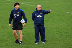 Graham Henry started helping the Pumas just six months after the World Cup. Photo / Getty Images