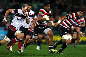 Counties haven't beaten Auckland since 2008 and they've also never held the Ranfurly Shield. Photo / Getty Images