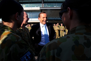 Australian Opposition Leader, Tony Abbott says he is ready to handle anything that is thrown his way. Photo / Getty Images