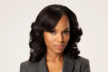ABC's Scandal stars Kerry Washington as Olivia Pope.