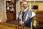 Rabbi Samuel Altschul says Jews have had to find humour in dark times. Photo / Natalie Slade