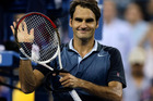 Roger Federer, of Switzerland, thanks fans after defeating Adrian Mannarino, of France, during the second round of the 2013 U.S. Open tennis tournament, Saturday, Aug. 31, 2013, in New York. Photo/ AP
