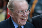 Broadcaster Sir David Frost died from a heart attack aged 74. Photo / AP