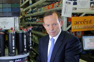 Australia's opposition leader Tony Abbott. Photo / AP