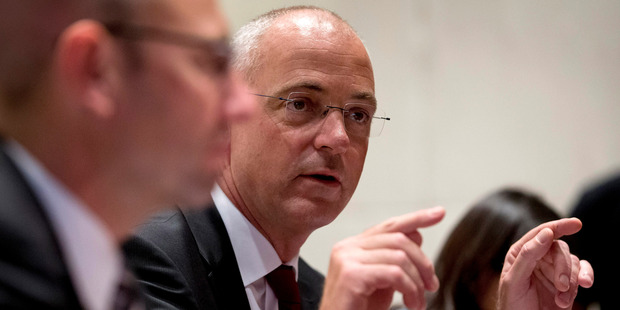 Fonterra chief executive officer Theo Spierings. Photo / AP