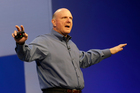 Microsoft chief executive Steve Ballmer.