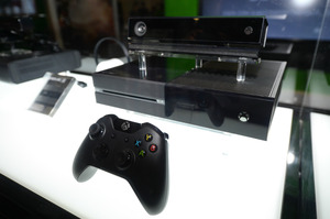 The Microsoft Xbox One console is on display at the GameStop Expo in Las Vegas, August 28. Photo by Al Powers/Invision/AP