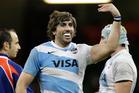 Argentina's captain Juan Martin Fernandez Lobbe. Photo / AP
