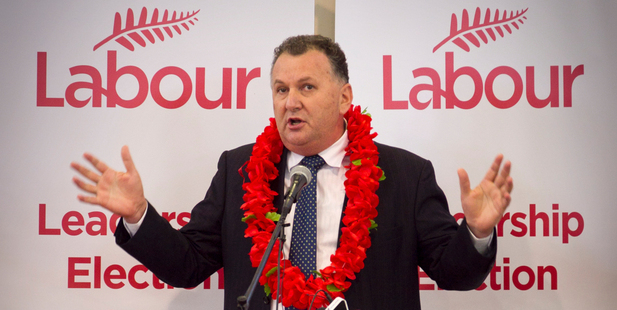 Jones gained momentum this week but is still considered the more likely of the three to drop off first in the preferential voting system because of limited caucus support. Photo / NZ Herald