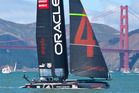 The case centred on illegal modifications made to Oracle's AC45 catamarans. Photo / Alex Robertson