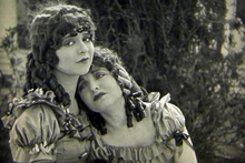 Clara Bow (left) and Ethel Shannon in 'Maytime '(1923) directed by Louis Gasnier. Photo / National Film Preservation Foundation