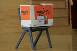 The humble ballot box could be a thing of the past if online voting catches on. File photo / Chris Skelton