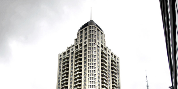Auckland's Metropolis building. Photo / Doug Sherring