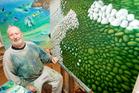 New Zealand artist Michael Smither. Photo / Chris Skelton