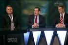 Labour Panel with Shane Jones, Grant Robertson, David Cunliffe. Who said what? Photo /  Maori Television