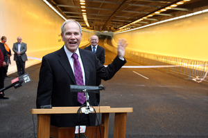 The Victoria Park tunnel was the last of a planned series of Transport Agency projects to complete a decade-long upgrade of the Central Motorway Junction. Photo / Janna Dixon
