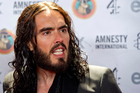 Russell Brand. Photo / AP