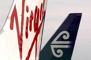 Air New Zealand has agreed to a share purchase that will lift its stake in Virgin Australia by 3 per cent to 22.99 per cent. Photo / Getty Images