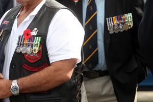 Vietnam War veterans. Photo / APN