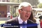 Australian PM Kevin Rudd vows to fight to the end despite polls showing him heading for an election wipe-out.