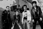 The Clash, from lift, Joe Strummer, Paul Simonon, Topper Headon and Mick Jones.