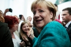 Angela Merkel's firm stand on austerity in the European debt crisis keeps her approval ratings consistently high, and she takes the same approach with Germany's economic problems. Photo / AP