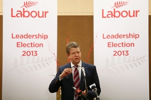 Labour Party leadership candidate David Cunliffe was the first speaker at a forum in Tauranga last night.Photo/Joel Ford
