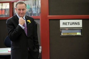 John Key's snarky comment disparages us enough that we need to be prepared to object to his next bit of overreach. PHOTO/APN