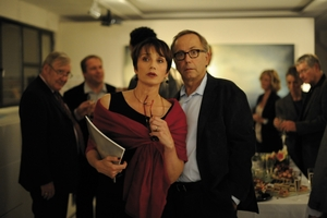 Kristin Scott Thomas and Fabrice Luchini.
