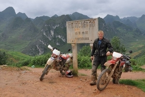 Mat Ward on his trip through South East Asia in 2009. PHOTO/SUPPLIED