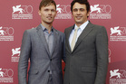 Child of God actor Scott Haze and director James Franco. Photo / AP