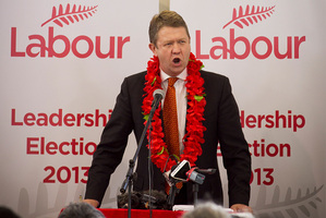 Labour MP David Cunliffe speaks to Labour Party members at a community hall in Otahuhu. Photo / Natalie Slade