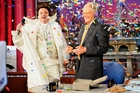 <i>The Late Show</i>'s first guest Bill Murray returns to help David Letterman celebrate the show's 20th anniversary.
