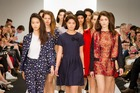 The finale from twenty-seven names autumn/winter 2014 collection, I'm Lost, which opened New Zealand Fashion Week 2013 on Tuesday.