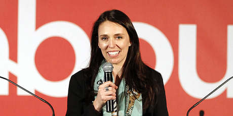 Jacinda Ardern at the 2012 Labour Party conference. Photo / Michael Craig