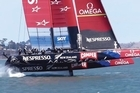 Herald on Sundays' Paul Lewis spoke to Team New Zealand designer Pete Melvin - one of the masterminds behind the AC72 class -who says upwind foiling is more likely to be used as means of providing short bursts of speed to position themselves optimally on the race course.