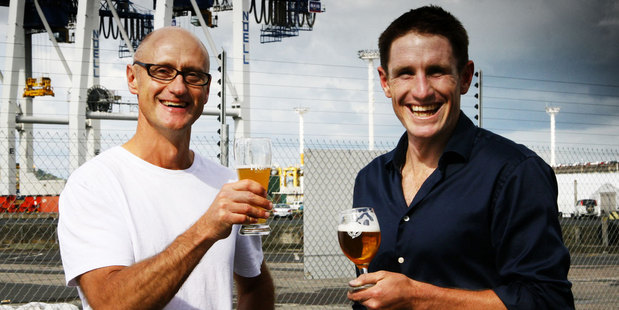 Moa chief executive Geoff Ross and founder Josh Scott want to expand their Marlborough Brewery.
