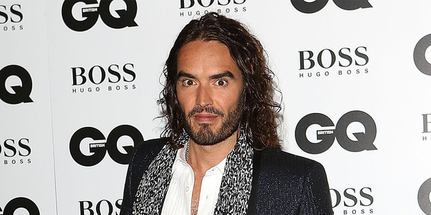 Loading Russell Brand at the GQ Awards. Photo / AP