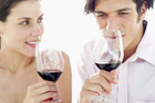 Appreciating a good red wine with your friends is a healthy way to enjoy alcohol.Photo / Thinkstock