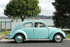 Philip Coyle owns a 1965 VW Beetle that is completely original. Photos: Jacqui Madelin