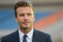 Highly groomed stars like David Beckham have made male beauty more acceptable.Photo / Getty