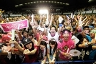 Residents of Olympic bid city Tokyo celebrate after the announcement of the 2020 Summer Olympic Games host city at Komazawa Olympic Park on September 8, 2013 in Tokyo, Japan. Madrid was the first city to be eliminated, followed by Istanbul.