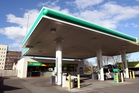 A woman gave birth at the BP service station on Railway Rd last Friday. Photo / Paul Taylor