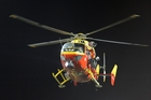The German group uses machines similar to those used by the Westpac rescue service. Photo / NZPA