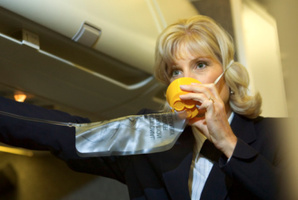 The oxygen masks tumbling down made for a flight to remember - for all the wrong reasons - aboard NZ414. Photo / Thinkstock